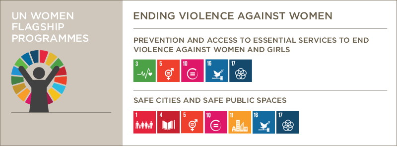 ending violence against women and the flagship programmes