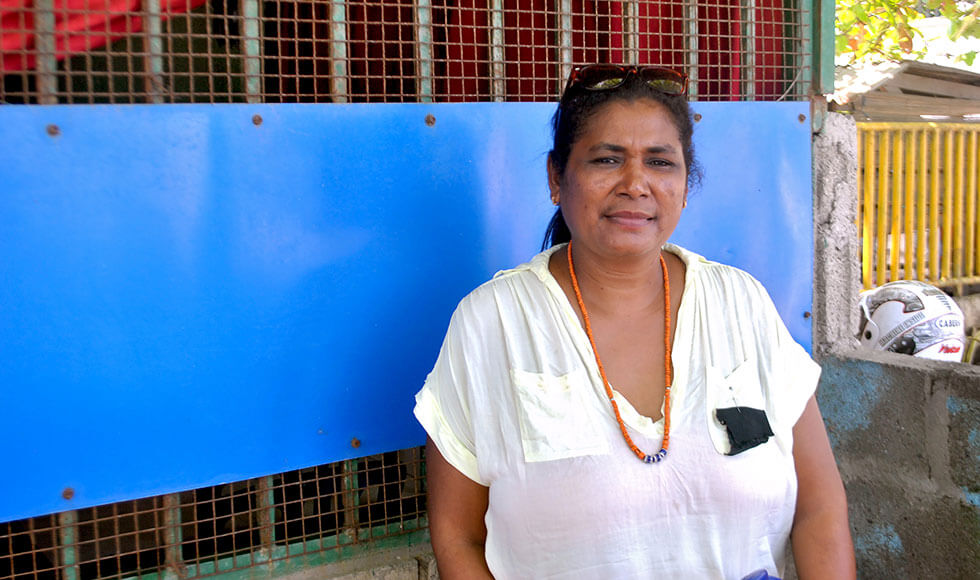 Barbara Garma Soares and 20 other women broke longstanding discriminatory barriers to be elected as village chiefs in Timor-Leste. Their number, while small, is a record, achieved through specialized training and a new law requiring the fielding of women candidates in local polls. Photo: UN Women/Corinne Roberts.