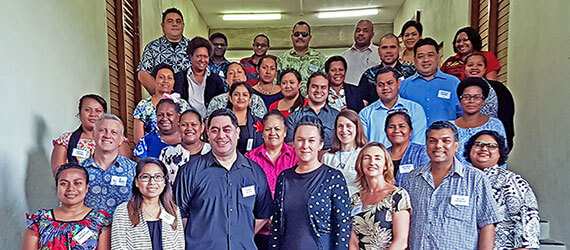 In Suva, Papua New Guinea, decision-makers from across the region learnt about the financial benefits and impacts of spending on women and men at a regional workshop on gender-responsive budgeting. Photo: UN Women/Preeya Ieli.