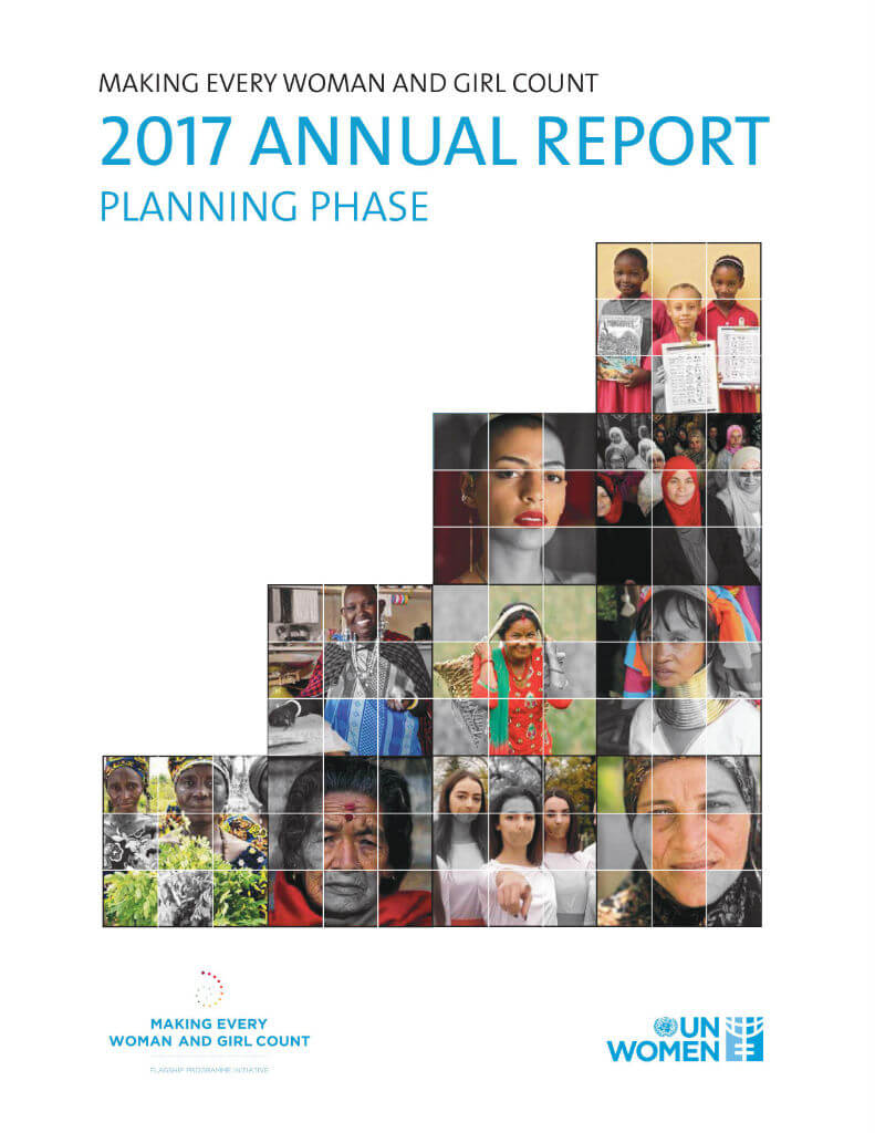 Making Every Woman and Girl Count: 2017 annual report: Planning phase
