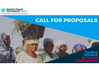Womens Peace and Humanitarian Fund Call for Proposal