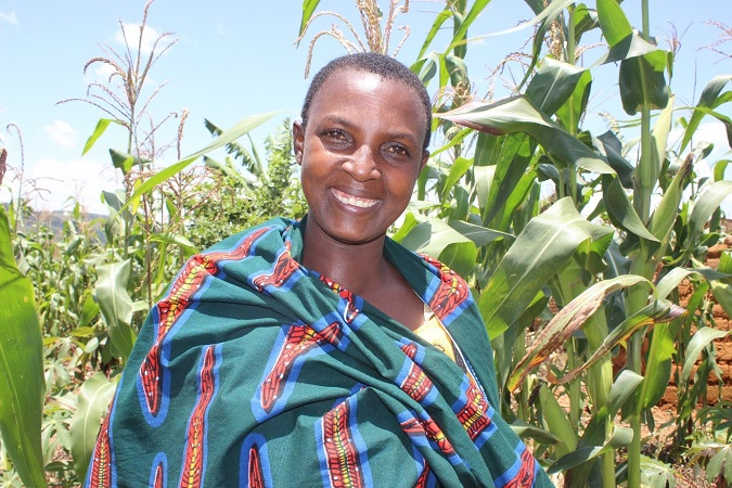 More than 50% of the Burundian population is made up of women and more than 90% live of agriculture. Photo: UN Women/ Cynthia Kimana