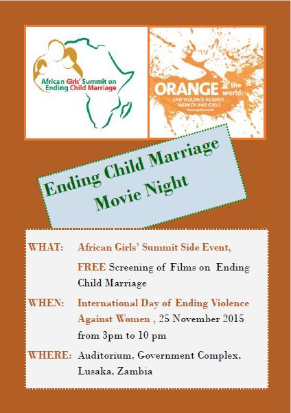 African Girls Summit on Ending Child Marriage