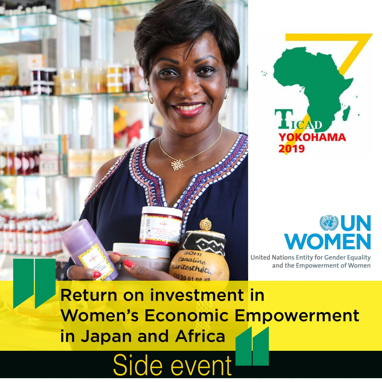UN Women Official Side Event at the Seventh Tokyo International Conference on African Development