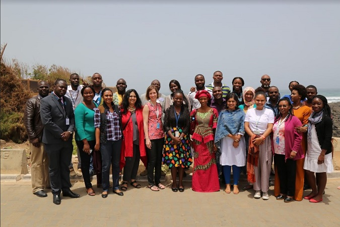 Group pic of UN Women Africa communications personel