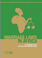 Marriage laws cover page