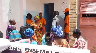 Guided tour through the One-Stop-Centre. (Photo Credit: Women/ L. Sanka)