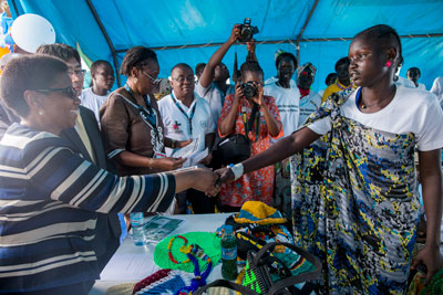 Executive Director calls for ending gender-based violence and women's inclusion in the peace process in South Sudan