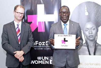 Sonatel Group joins the HeForShe campaign