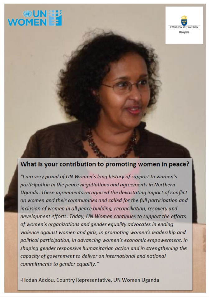 Hodan Addou, Country Representative, UN Women Uganda