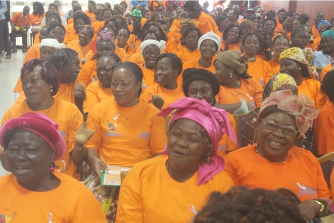 Cross section of participants during launch of 16 days activism in Cameroon. Photo credit : J Fajong /UN Women Cameroon