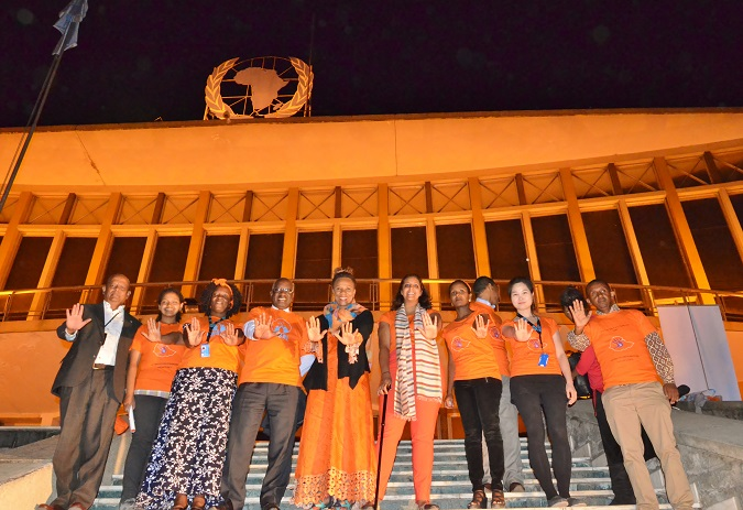 International Day for the Elimination of Violence against Women and 16 Days of Activism against Gender-Based Violence campaign opening in Ethiopia. 25 November – 10 December 2015