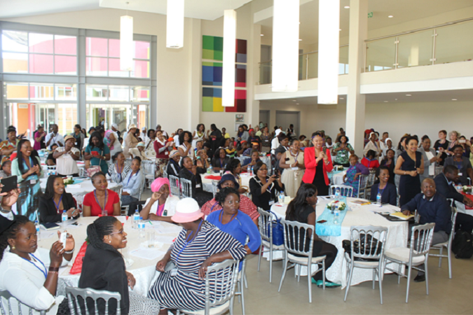 150 women from throughout Johannesburg celebrate their journeys as entrepreneurs as part of Coca-Cola's 5by20 programme, in collaboration with UN Women and implementing partner Hand in Hand South Africa