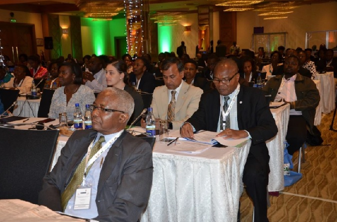 Participants at the annual celebrations to commemorate the Campaign to Accelerate the Reduction of Maternal Mortality in Africa (CARMMA) Photo credit: UN Women/Mary Mathu