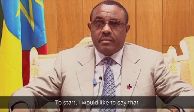 Video messege from Prime Minister, HE Hailemariam Desaleg, at the launch event