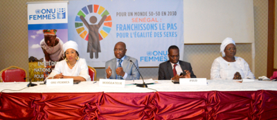 Participants of the panel discussed the significance of International Women's Day, linking it to the SDGs and the Planet 50:50 goal within the context of Senegal.
