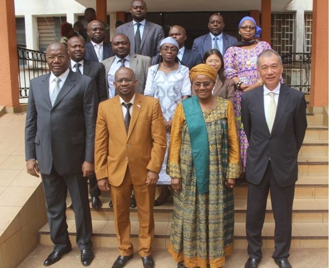 Ambassador of Japan to Cameroon, Minister of Women's empowerment and Family, UN Women Representative.