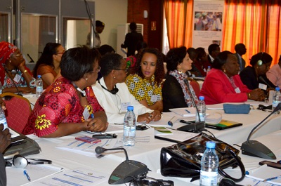 Regional workshop on Gender, Human Rights & Women's participation in elections in west & central Africa