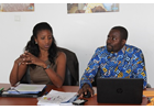 UN Women staff at WCARO updates its knowledge on HIV in the workplace