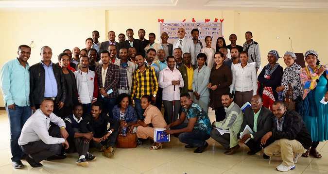 Participants of the ToT including UN Women and government representatives, Injibara Town, Amhara Regional State