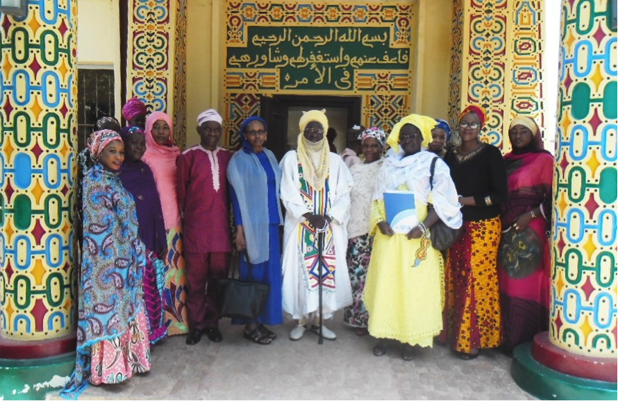 UN Women delegation with council members of Kano Emirate, and members of New Faces New Voices