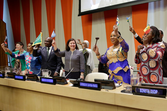 Press Release: New platform launched to galvanize and boost women's leadership of Africa