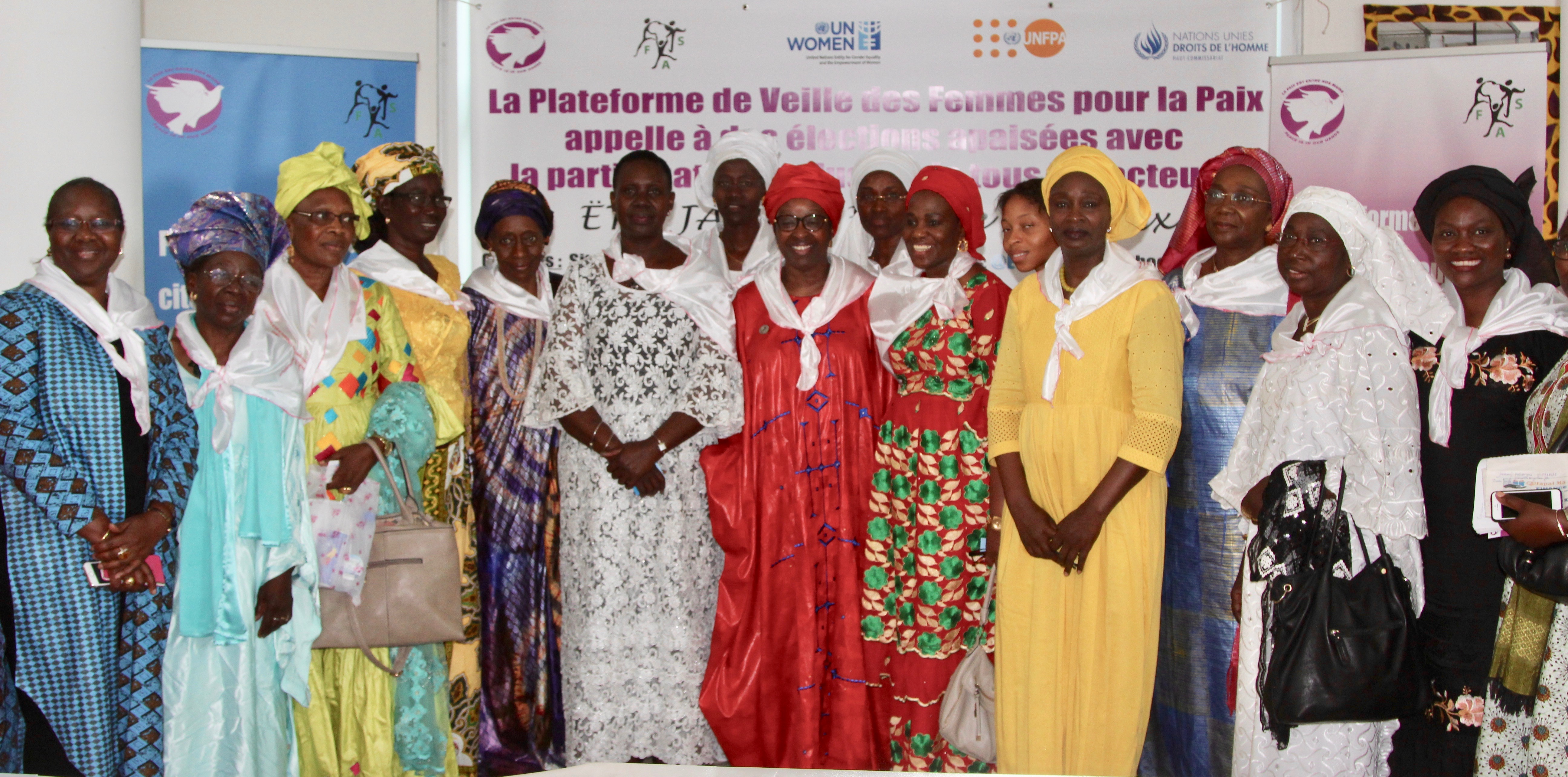 Senegalese women leaders mobilize for peace and women's leadership