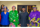 High level mission to Nigeria calls for women's participation and leadership in Peace, Security and Development