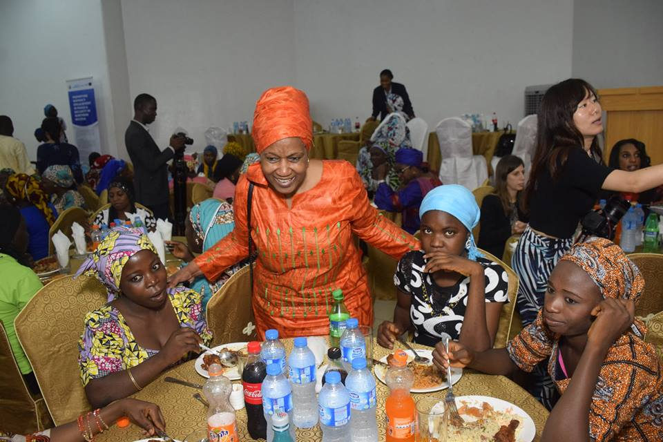 Women and girls heartened to establish sustainable social and economic re-integration interventions