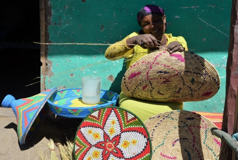 Rural women in Ethiopia get involved in income generating activities