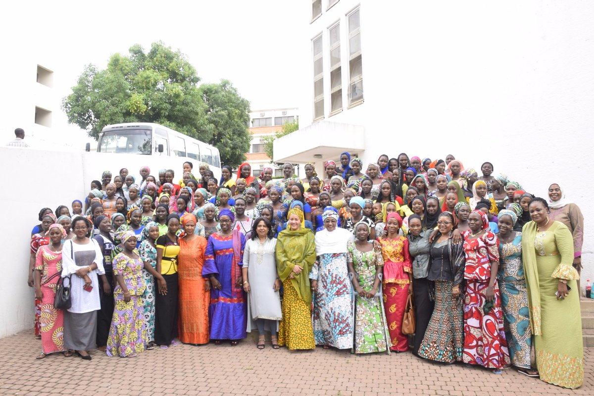 group photo of chibok girls