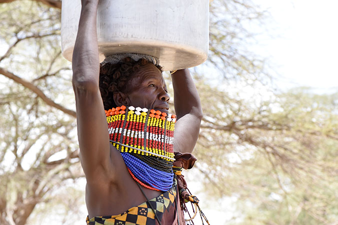 In pastoral communities of Kenya, women bear the brunt of drought