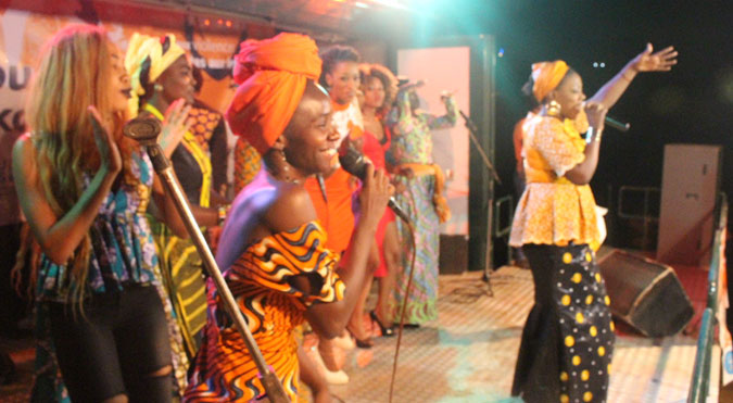 Malian artists take a stand to end violence against women