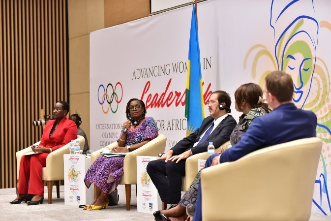 Advancing involvement of women in male dominated sports fields