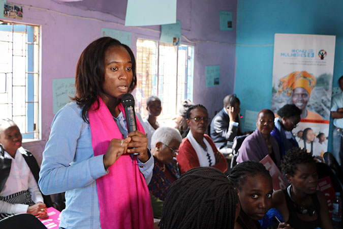 UN Women Executive Director visits Mozambique on African Women's Day