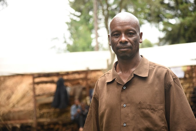 Charles Kosgei, a religious leader and male champion on GBV issues. Photo: UN Women/ Kenney Okoth