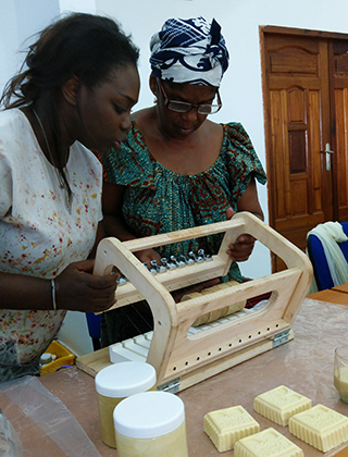 Powering up women's income in the Ivory Coast through climate-smart shea butter production