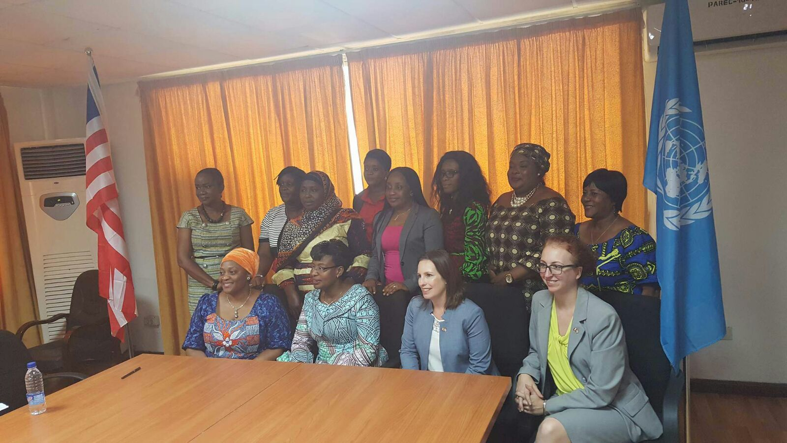 UN Women Country Representative meets Canadian Ambassador-designate; signs Letter of Agreement with Women's Legislative Caucus of Liberia