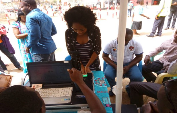 Voter Registration on International Women's Day launch in Cameroon
