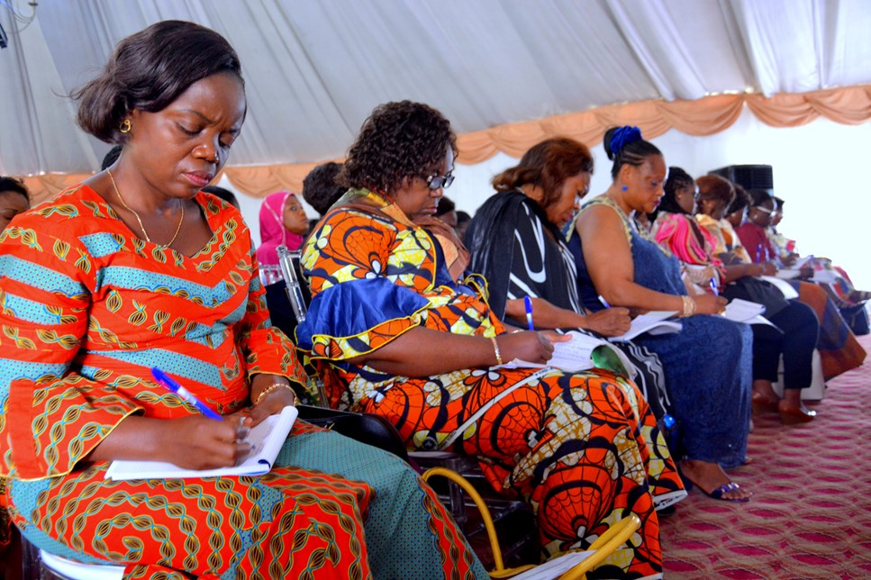 Day 2 Training session for women in the electoral process