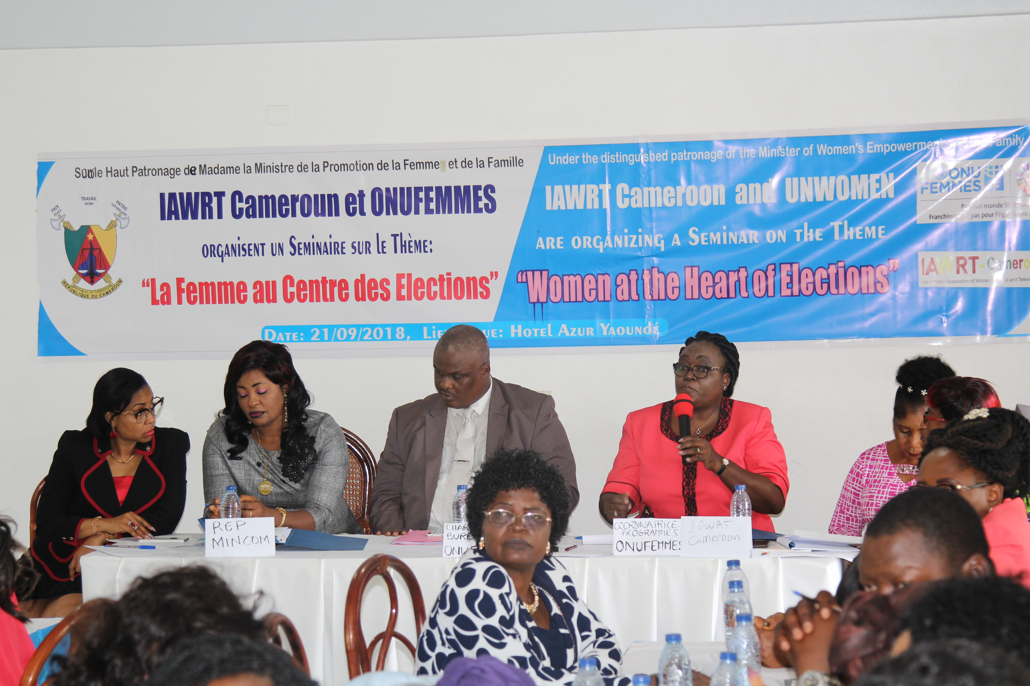 UN Women and IAWRT: Placing women at the heart of Elections