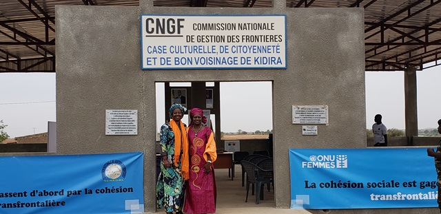 UN Women WCARO peace and security departement at the national commission in Kidira