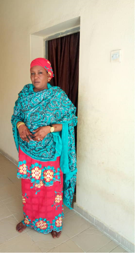 Bawa Gana Abba Kaw is a 42-year-old internally displaced person who fled her home in 2015