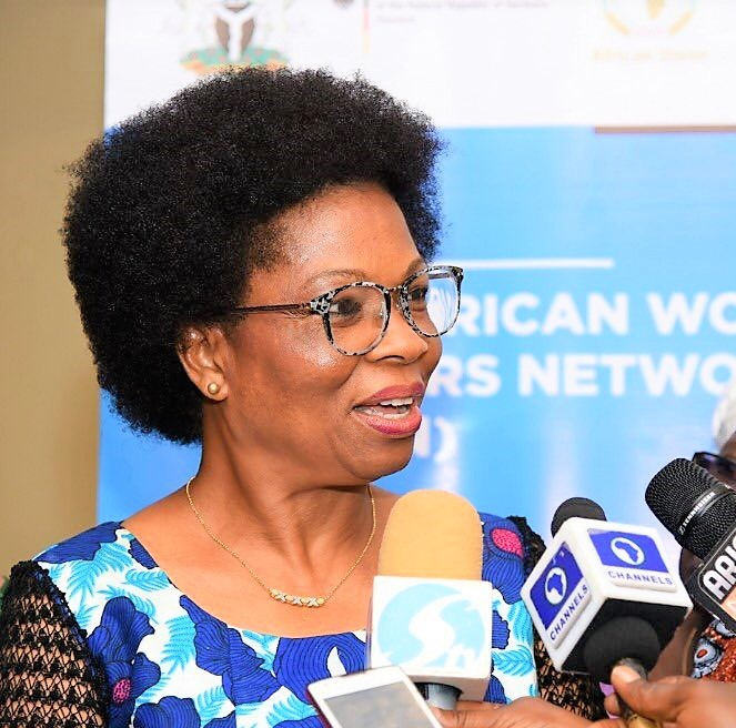 Chairperson of the steering committee members for African Women Leaders Network (AWLN) Amb. Toyo Nkoyo.