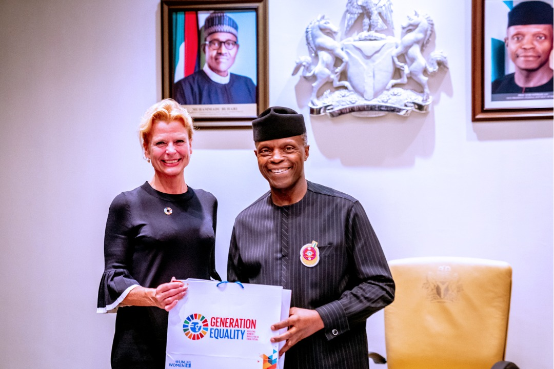 Åsa Regnér, Assistant Secretary General and UN Women Deputy Executive Director Visits Nigeria to strengthen partnerships with UN Women's key partners in Nigeria