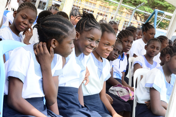 October 11, 2019 International Girls' Day: The Gombe's Sacred Heart High School hosts the celebration.
