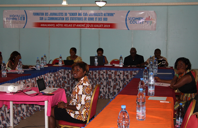 Presentation of the annual action plan of the Gender Data Network