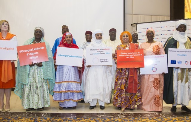the official launching the Spotlight Initiative in Niger.