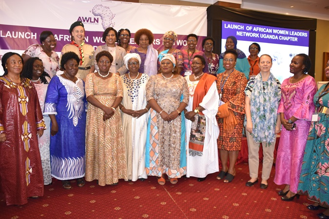 Women activists with the RCO and speaker