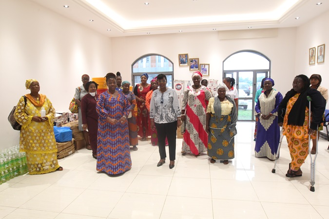 Representatives of various women's and other marginalized groups who attended the handover ceremony. Photo: UN Women Liberia